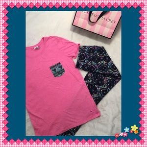 👚PINK BY VICTORIA'S SECRET HOT 👚PINK T-SHIRT XS